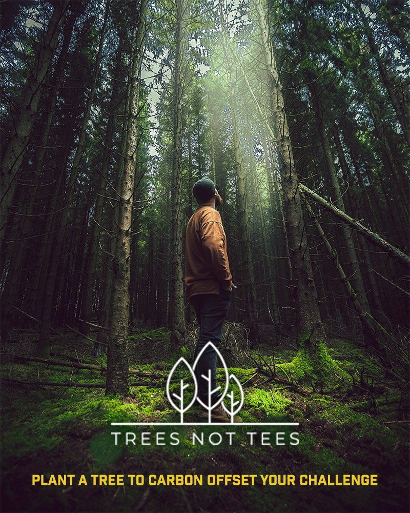 Trees Not Tees - carbon offset